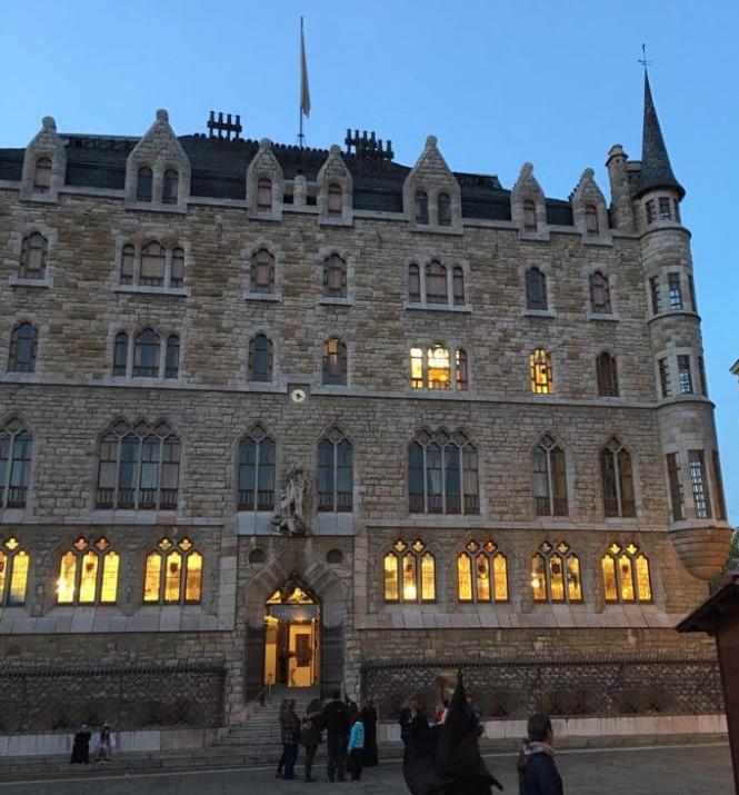 Casa Botines, un palacio para una boda